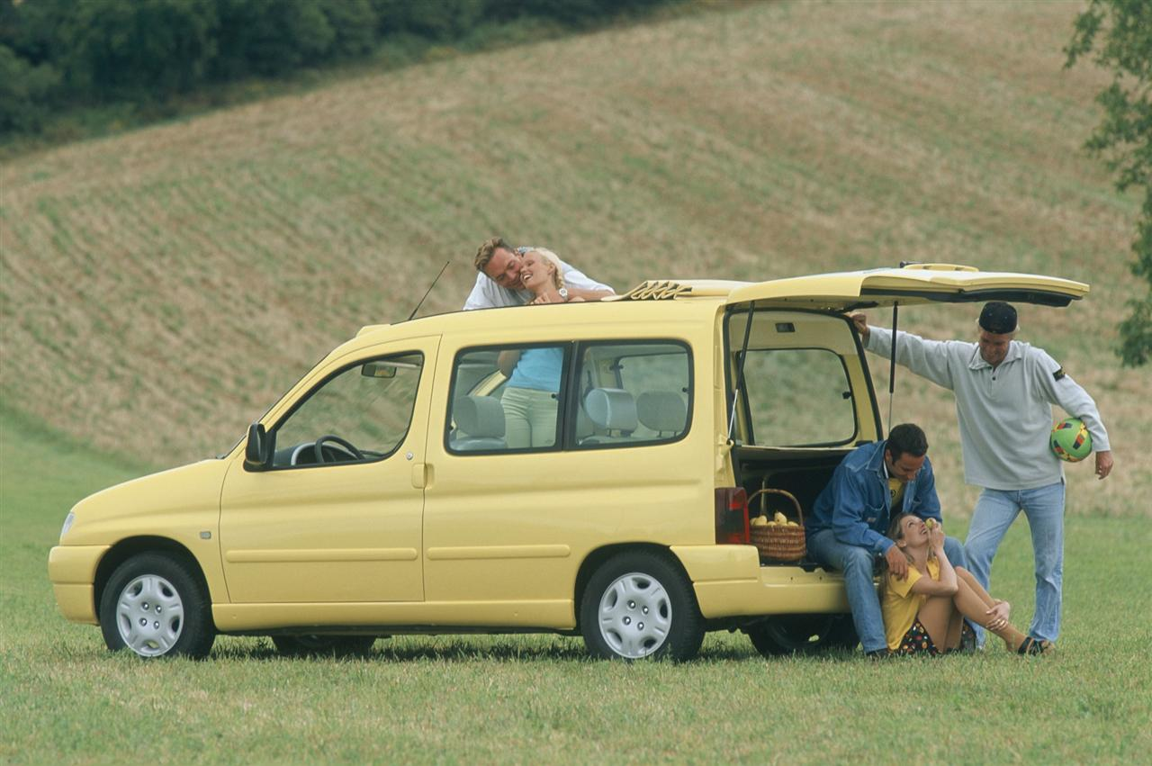Berlingo Grand Large 1996 concept volet ouvert