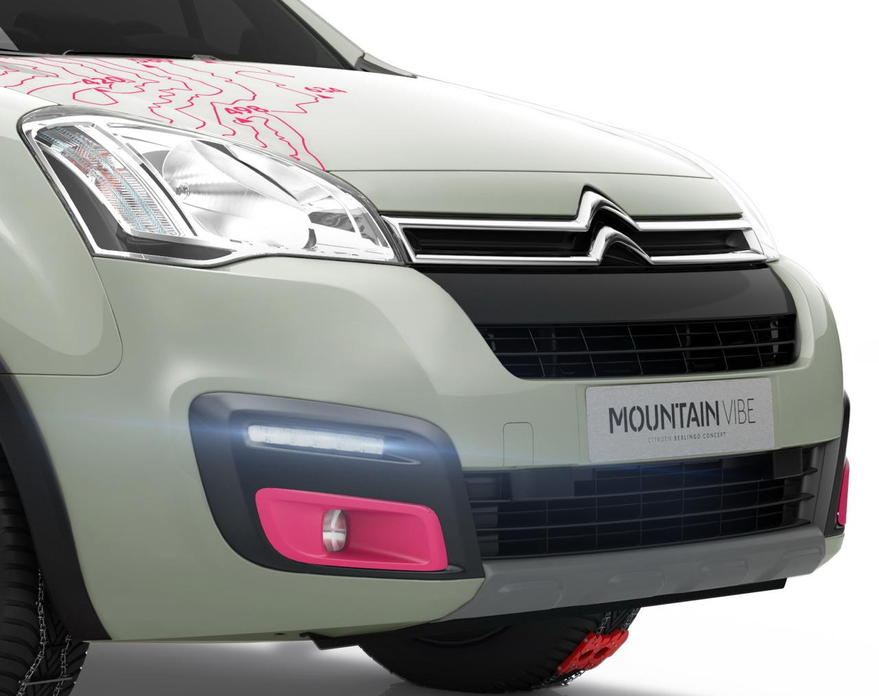 Berlingo Mountain Vibe 2015 concept avant