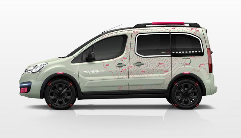 Berlingo Mountain Vibe 2015 concept profil