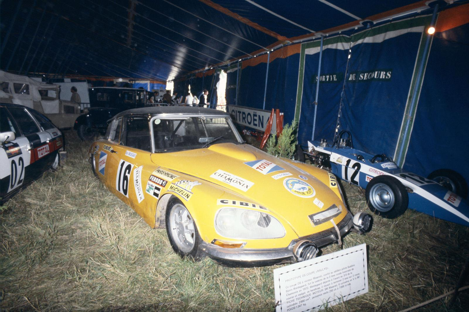 Prototype DS Coupé rallye - 1972
